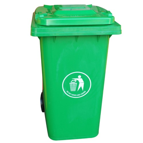 Wheelie Bin Green 240l Bins Cleaning Equipment Clena