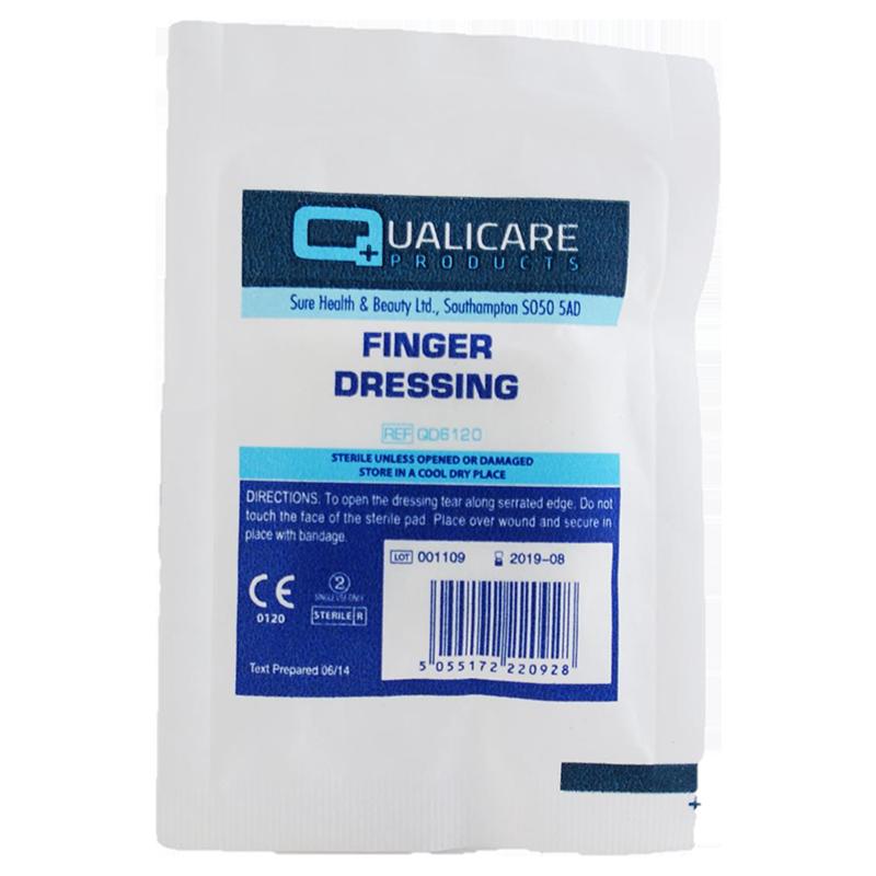 Finger Dressing 3 5 X 3 5cm Plasters Dressings Amp Tapes