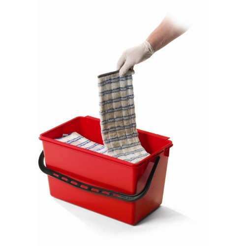 Mopmatic Pail 22l Red Mopping Systems Floorcare