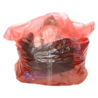 Red Laundry Sacks Soluble Strip
