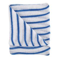Blue Striped Dishcloths