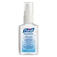 Purell Hand Sanitiser 60ml Pump Action