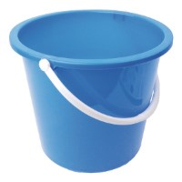 Plastic Bucket 9L Blue
