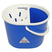 Mop Strainer Bucket Plastic Blue