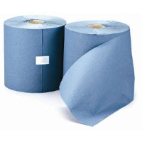 Leonardo Roll Towel 1 Ply Blue 200m