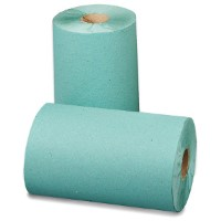 Roll Towel 1 Ply Green 200mm