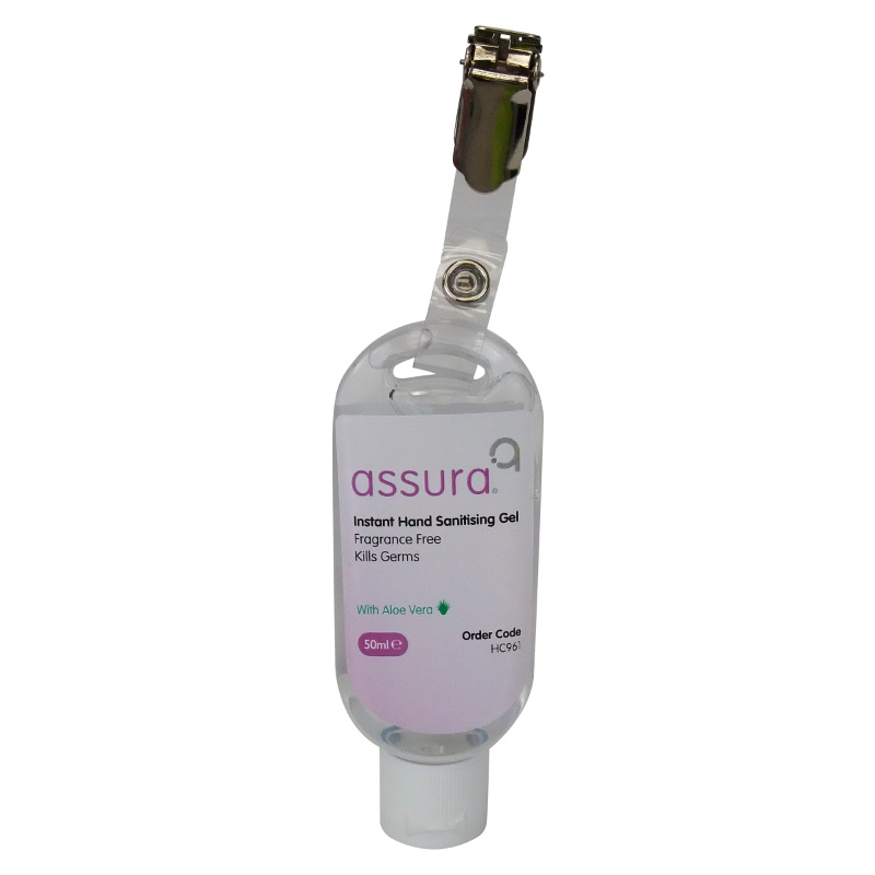 Assura alcohol gel hand sanitiser